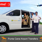 Private Punta Airport Transfers with Dominican Quest